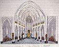 Ph v gulpen, Interieur St-Nicolaaskerk Maastricht, ca 1828.jpg