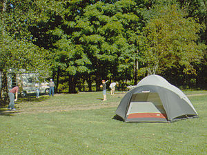 Ole Bull State Park - Camping at the park