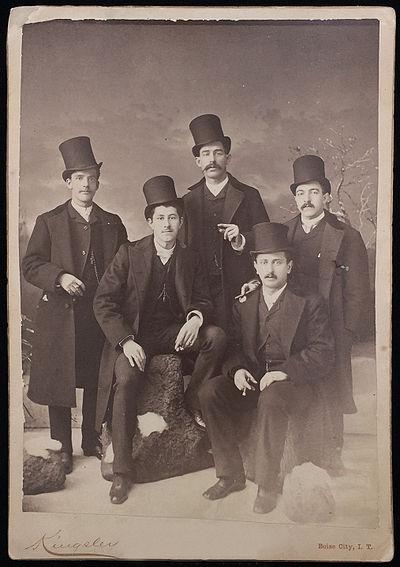 Photograph--Cabinet-Card--Men--Beaver--Hats.jpg
