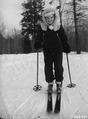Photograph of Skier Marge Burkle - NARA - 2128556.tif