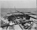 Photograph of members of President Truman's party relaxing on the after deck of his yacht, the U.S.S. WILLIAMSBURG... - NARA - 199036.tif