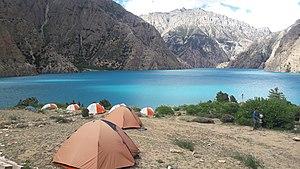 Phoksundo Lake - Image: Phucksumdo lake