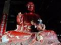 Piṇḍola Bharadvāja of Kozanji-Temple Tamba,Hyogo 弘浪山高山寺本堂 びんづる DSCF7794.JPG