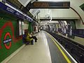 Piccadilly Circus tube stn Piccadilly eastbound look west.JPG