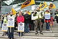 Picketing at The Forum, Norwich in 2010.jpg