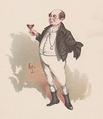 Samuel Pickwick - Mr. Pickwick as illustrated by 'Kyd' (1889)