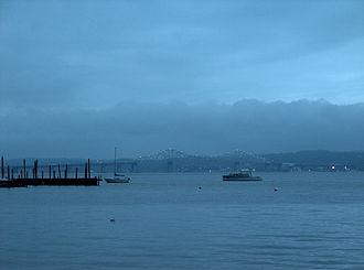 Piermont, New York -  Piermont Pier, south of the Tappan Zee Bridge