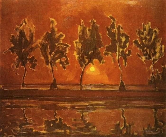 Piet Mondriaan - Paysage 1