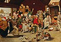 Pieter Brueghel the Younger - The king drinks.jpg