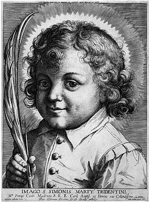 Simon of Trent - Image: Pietro Stefanoni Simon von Trient