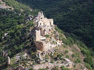 Montfort Castle - Image: Piki Wiki Israel 2885 Gelil 1963 תמונת מחזור מאימון גדנע בגליל (גליל ים) 1963