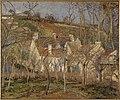 Pissarro - LES TOITS ROUGES.COIN DE VILLAGE, EFFET D'HIVER, 1877.jpg