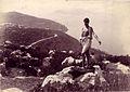 Plüschow, Wilhelm von (1852-1930) - n. 1222 - Vue de Capri à Sorrente recto.jpg