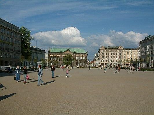 Plac Wolności w Poznaniu