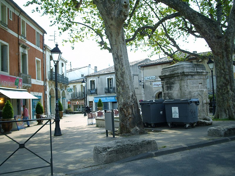Place Pierre Renaudel à Celleneuve (Montpellier)