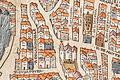 Plan de Paris vers 1550 color eglise Saint-Andre-des-arts.jpg