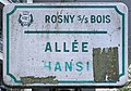 Plaque Allée Hansi - Rosny-sous-Bois (FR93) - 2021-04-15 - 1.jpg