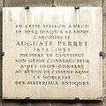 Plaque Auguste Perret, 51-55 rue Raynouard, Paris 16.jpg