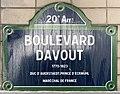 Plaque Boulevard Davout - Paris XX (FR75) - 2021-05-21 - 1.jpg