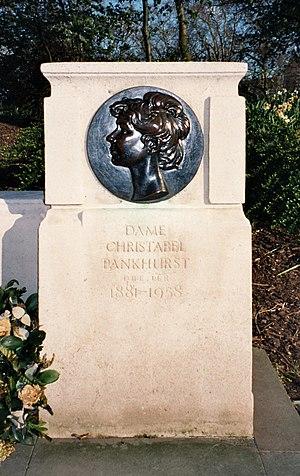 Emmeline and Christabel Pankhurst Memorial