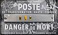 Plaque du poste de transformation EDF, rue des Folliets (Saint-Maurice-de-Beynost).jpg