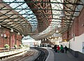 Platform 2 at Holyhead Station - geograph.org.uk - 1876064.jpg