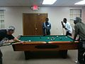 Playing pool at APEX with one of our mentors.jpg