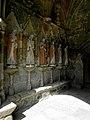 Plouha (22) Chapelle de Kermaria-an-Isquit Porche sud Apôtres 05.JPG