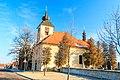Pohled na kostel svatého Jana Nepomuckého v Lánech na Důlku 01.jpg