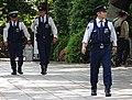 Police at Yasukuni Shrine - Tokyo - Japan (47855249322).jpg