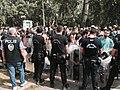 Police force refugees in Edirne onto a bus, September 24, 2015.jpg