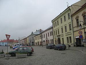 Polná - Image: Polná náměstí