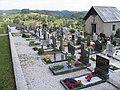 Ponikve Tolmin Slovenia - village cemetery.JPG