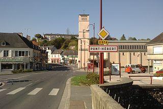 Pont-Hébert Commune in Normandy, France