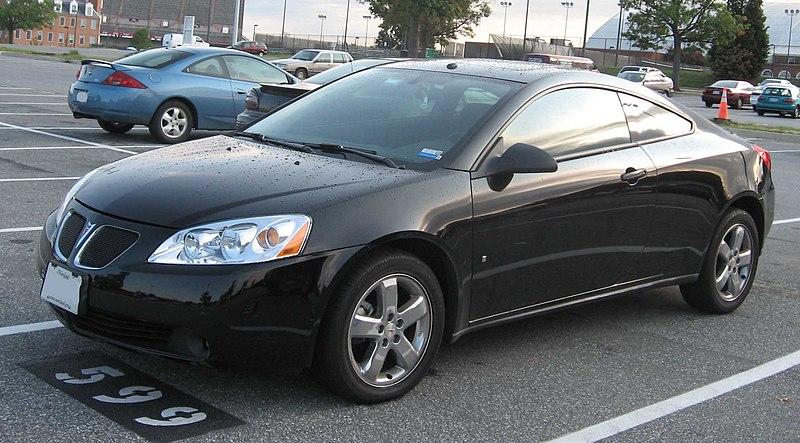 Black Pontiac G6 Coupe Victor