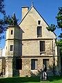 Pontoise (95), musée Tavet-Delacour, hôtel de 1477-83, 4 rue Lemercier, pignon nord-est.jpg
