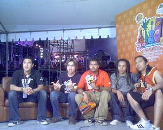 Pop Shuvit - at Pattaya Music Festival 2006, Thailand
