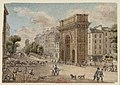 Porte et boulevard Saint-Martin (Paris) 1829.jpg
