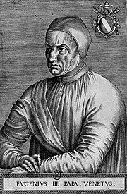 Portrait du pape Eugène IV