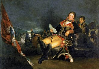 The Third of May 1808 - Goya's Manuel Godoy, Duke of Alcudia, Prince of the Peace, 1801. Godoy was Prime Minister of Spain during the 1808 Napoleonic invasion of Spain.