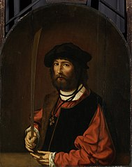Portrait of Ruben Parduyn, knight of the Holy Sepulchre