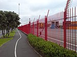 Ports of Auckland Fence Path