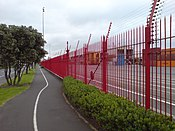 Ports of Auckland Fence Path.jpg