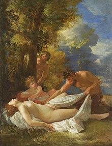 Nicolas Poussin - Nymphes et satyres
