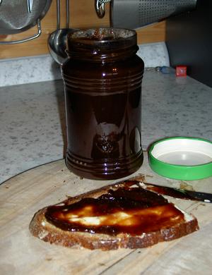 Fruit butter - Image: Powidl 1