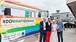 Präsentation Paradetruck Jugend gegen AIDS zur ColognePride 2018 am Köln Bonn Airport-7239.jpg