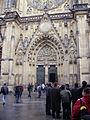 Prag Dom St. Vitus Portal.JPG