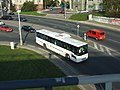 Praha, Břevnov, Malovanka, autobus Karosa Axer.JPG