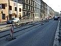 Praha, Radlice, rekonstrukce tramvajové trati V.jpg