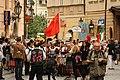 Praha, Staré Město, Celetná, průvod čínských tanečníků.JPG